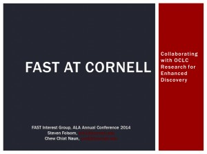 FAST at Cornell